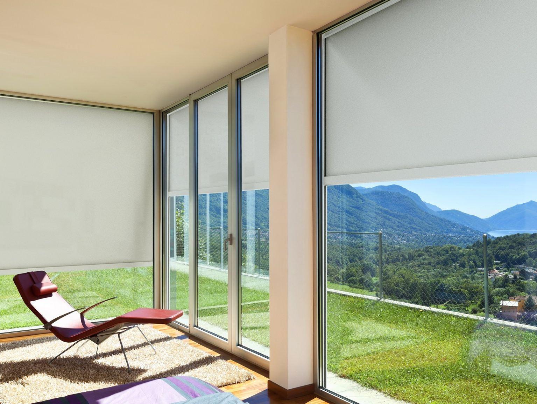 Schermature solari tende da sole oscuranti frangisole pergole reale infissi - Tende finestre pvc ...