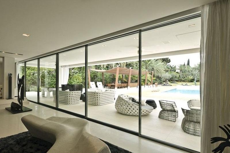 Produzione alzanti scorrevoli in pvc e vetrate reale infissi - Finestre esterne in alluminio ...