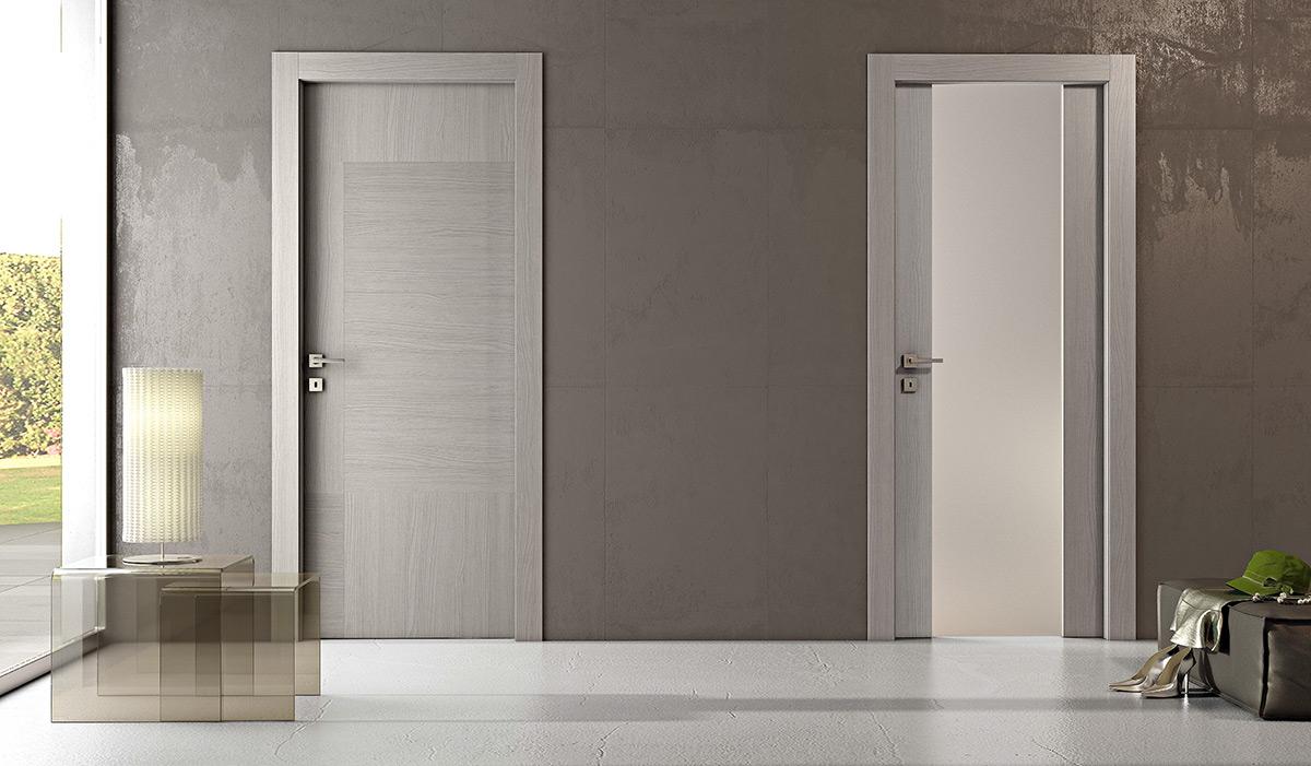 Emejing porte interne grigie gallery - Porte interne pail ...
